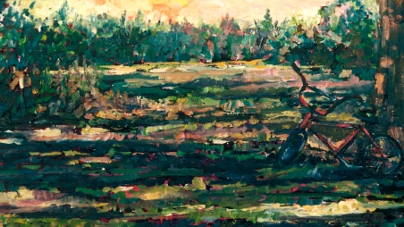 The Bicycle oil 12x24